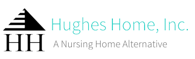 Hughes Home logo in Fredericksburg, Virginia